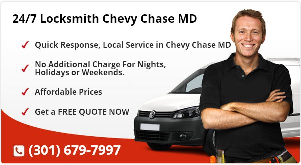 24 Hour Locksmith Chevy Chase MD